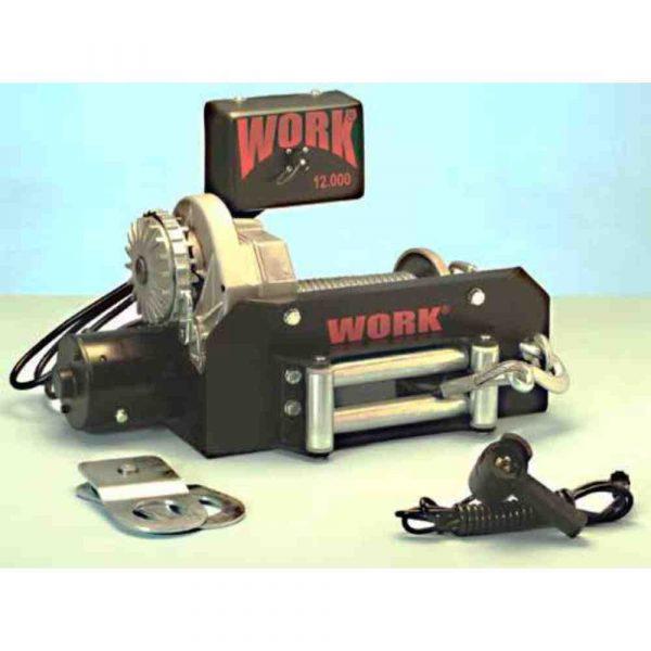 GUINCHO WORK 12000Lbs  COMPACTO 12v