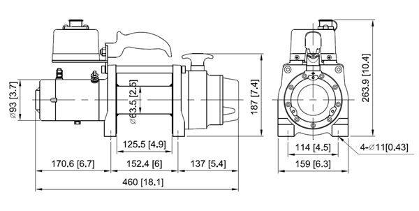 GUINCHO COMEUP DV-6S ITEM 854754