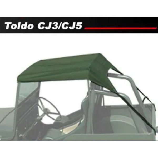 TOLDO JEEP WILLYS CJ3/CJ5 SAN MARINO