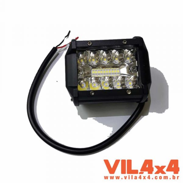 FAROL DE LED 4″QUAD , 60W 9 A 32V, 6000LM IP67 RC