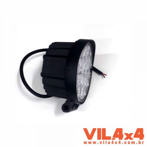 FAROL DE LED 4″ REDONDO 42W 9 A 32V 2160LM IP67 RC